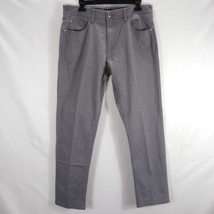 Iron Co. Mens Pants 32 X 30 Patriot Chino Gray New